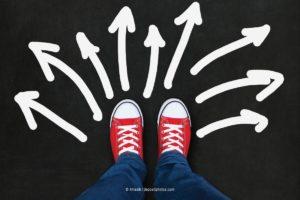 Welchen Weg gehst Du in der Unplanbarkeit? (Bild: 4masik via depositphotos)